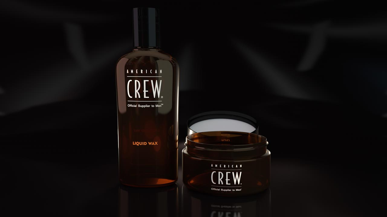 American Crew Liquid Wax - Product Modeling