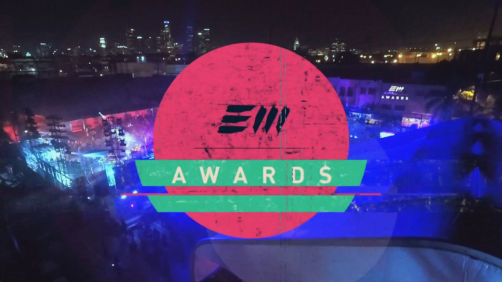 Electronic Music Awards 2017 - Graphics Package