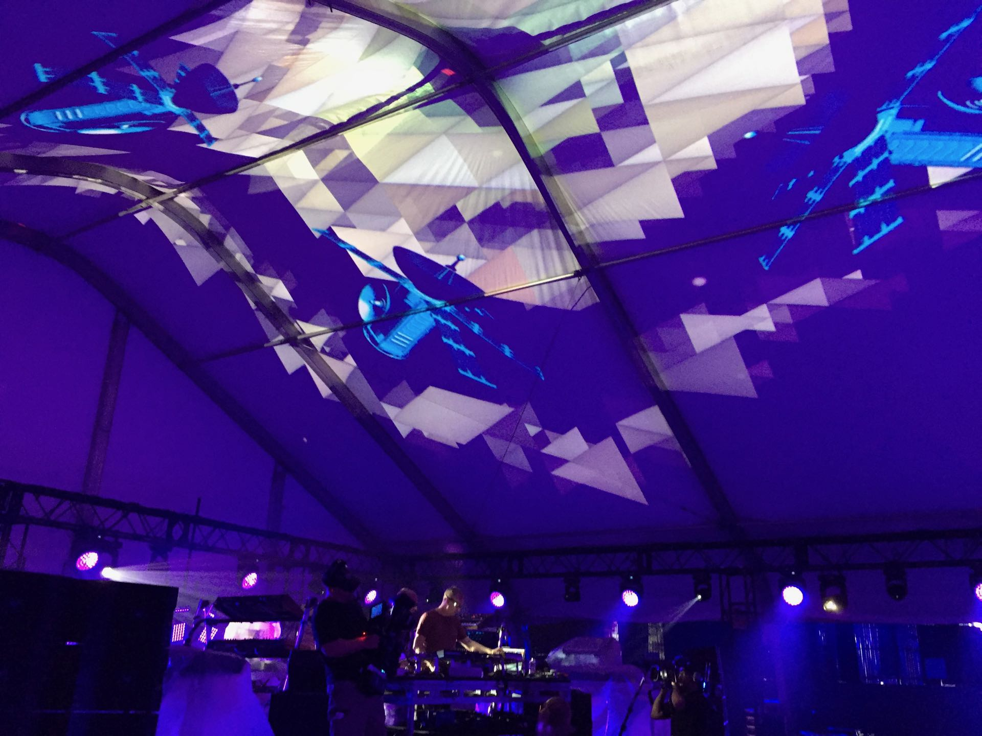 Electronic Music Awards 2017 - Projection Mapping