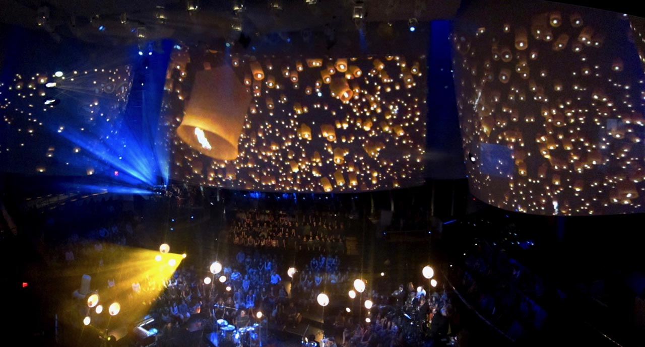 MTV Juanes Unplugged - Projection Mapping