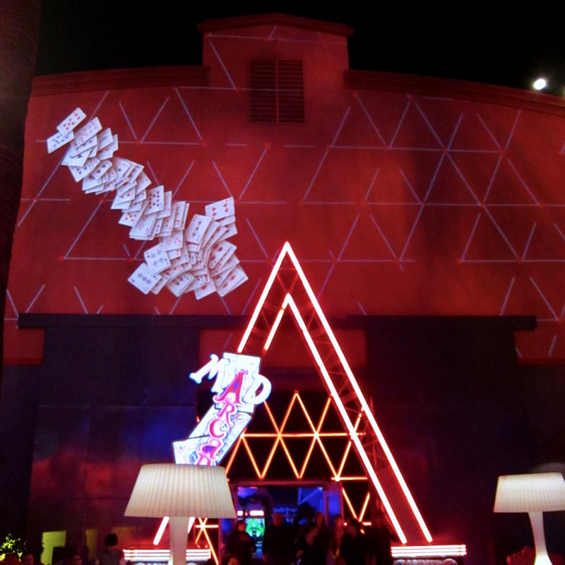 Disneyland Resort's Mad T Party - Projection Mapping