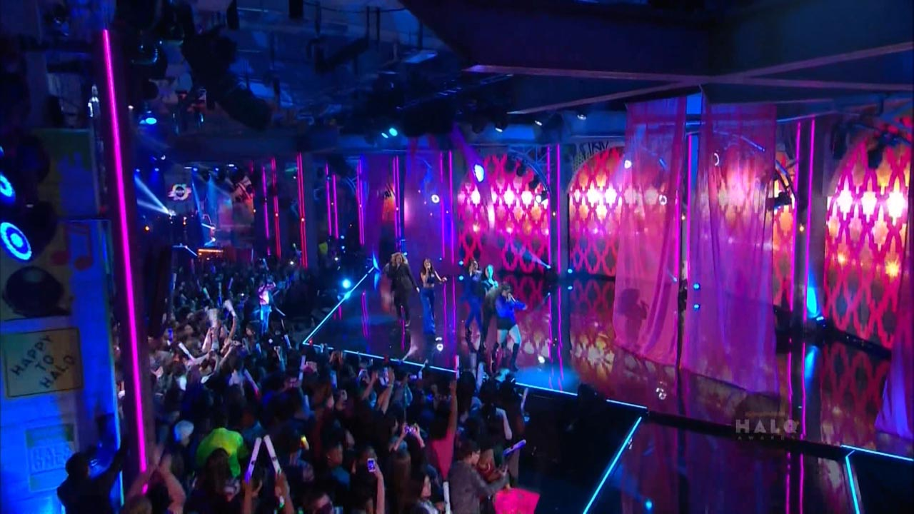 Fifth Harmony - Worth It - Performance Screens Design