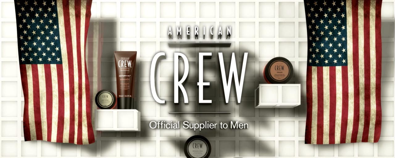 American Crew @ Revlon StyleMasters 2012 - Screens Design