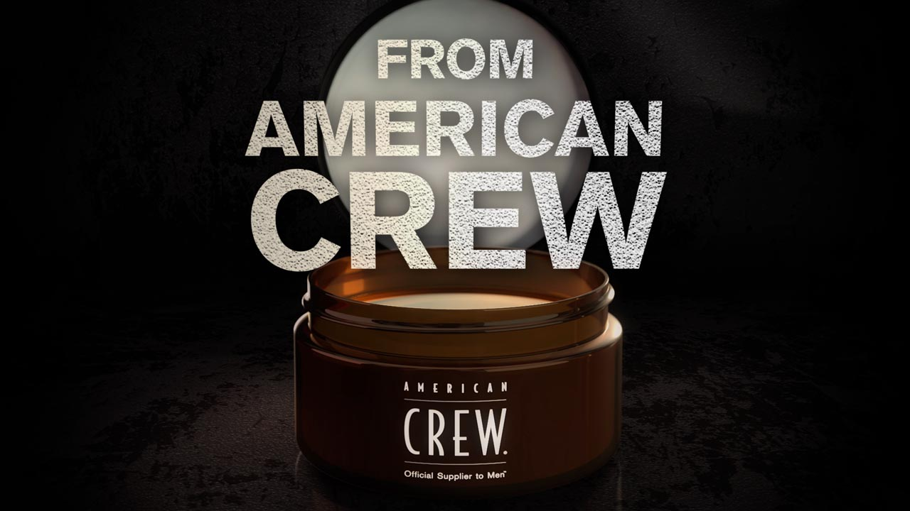 American Crew Liquid Wax - Product Rendering