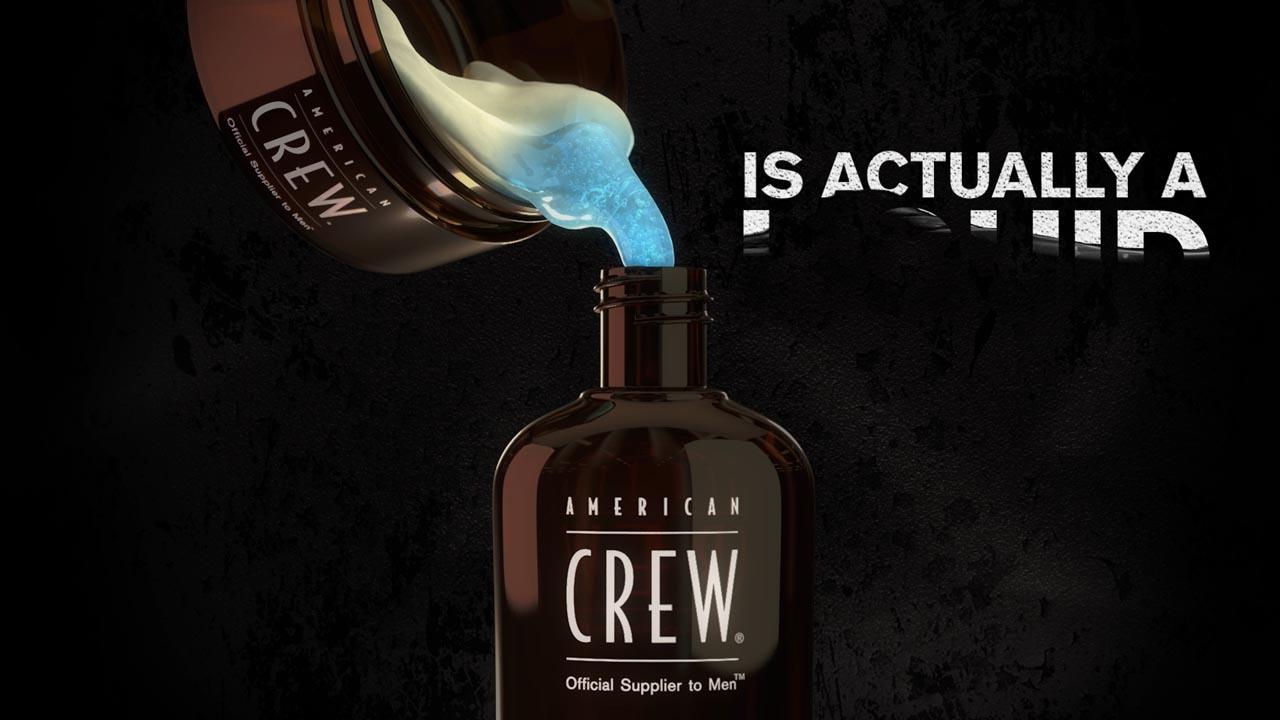 American Crew Liquid Wax - Liquid Simulation