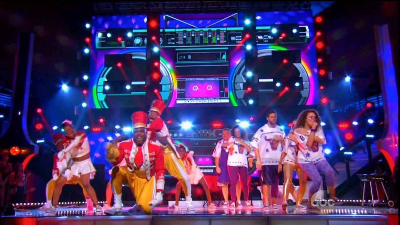 #DanceBattle America - Screens Design