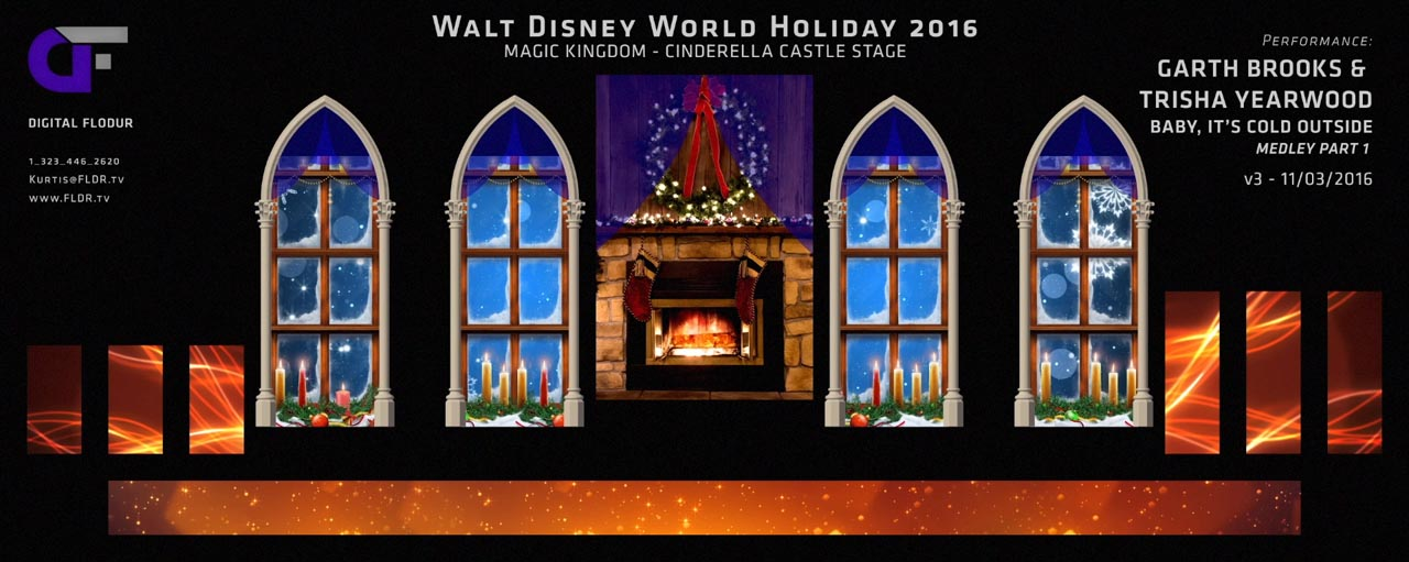Disney Parks Holiday Specials 2016 - Performance Look