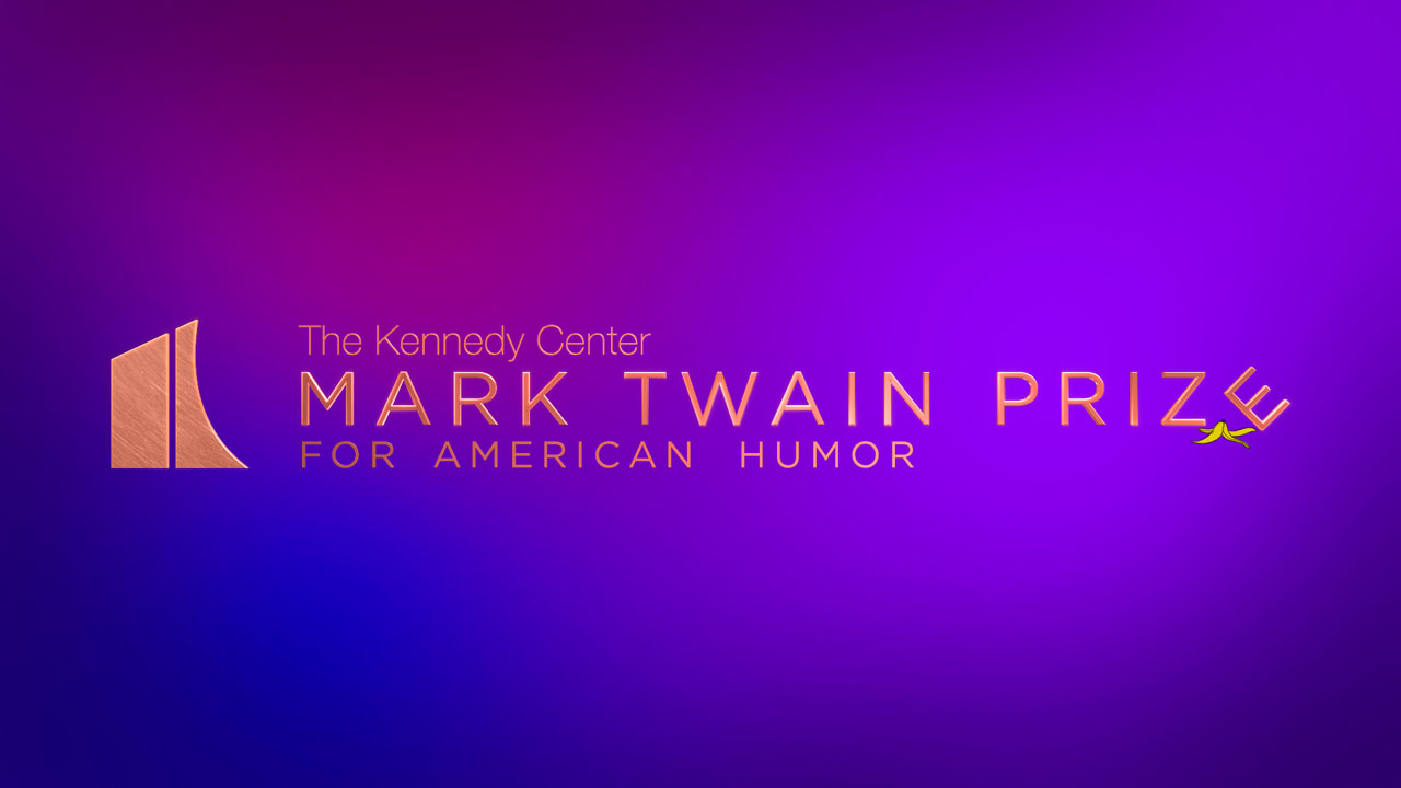 Mark Twain Prize - Logo Re-Brand