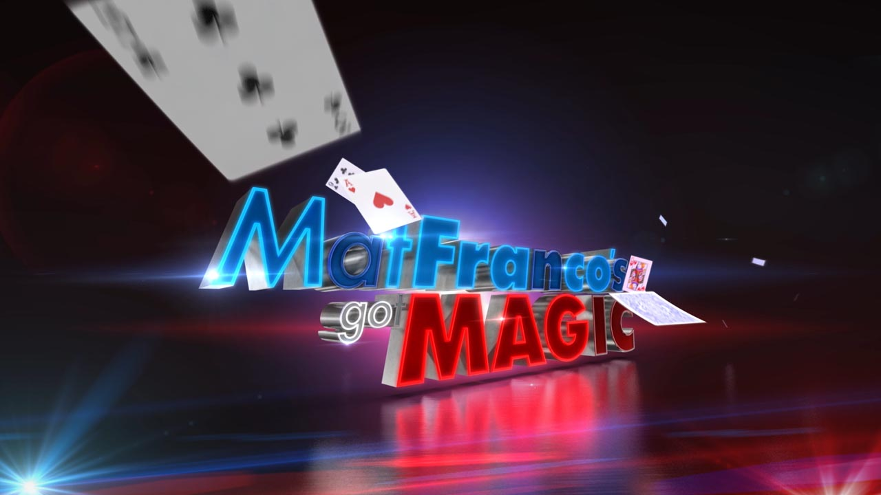 Mat Franco's Got Magic - Graphics Package