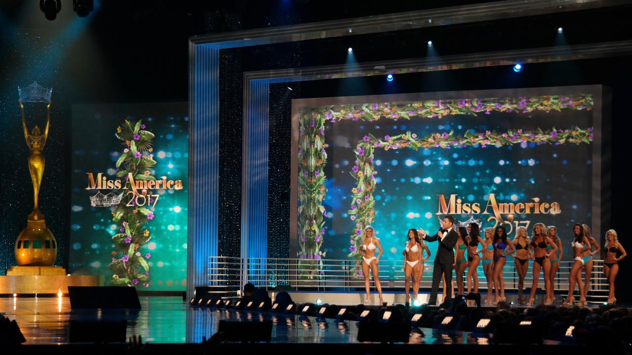 The 2017 Miss America Competition - Screens Design