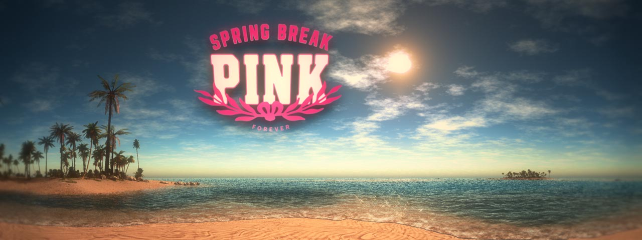 Pink Spring Break - Projection Mapping